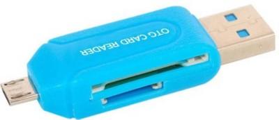 Apro OTG Micro SD+TF Card Reader  Multicolor  Card Reader