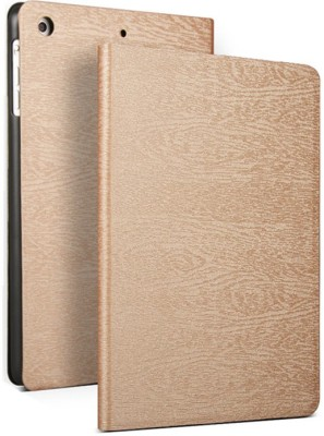 Robustrion Flip Cover for Apple iPad 5th Gen 9.7 inch, Apple iPad Air 9.7 inch, Apple iPad 6th Gen 9.7 inch, Apple iPad 9.7 inch(Gold, Cases with Holder)
