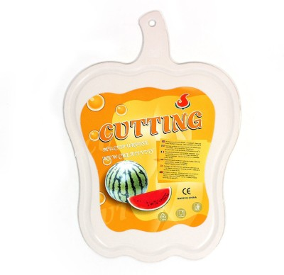 Little Kitchen New Plastic Chopping Board For Vegetable Cutting Plastic Cutting Board(White Pack of 1)  available at flipkart for Rs.199