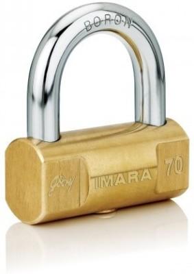 Godrej Imara 70 mm (3 Keys) Padlock(Golden)