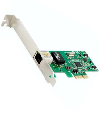 FineArts Gigabit Ethernet LAN PCI Express (PCIe) Network Controller Card 10/100/1000 Single Lane Driver Supported MS Windows 98SE/ME2000/XP/Server 2003/XP 64-bit/Vista/Vista64-Bit/Win 7 64bit/8 Network Interface Card(Multicolor)  available at flipkart for Rs.499