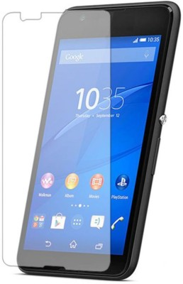 KRAZZY INDIA Tempered Glass Guard for Sony Xperia E4g(Pack of 1)