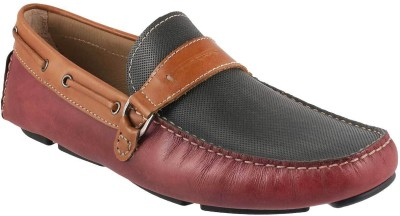 b164fc7d7e6 J.Fontini Awesome Loafers For Men(Maroon)