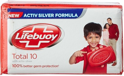 Lifebuoy Total 10 Soap(300 g, Pack of 3)