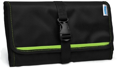 Saco Gadget Organizer Bag For All Gadgets, Power Bank, Cables, Usb Pen Drives, Mobile Phone Accessories Memory Cards, Simcards, DSLR Digital Camera Accessories Organiser / Universal Travel Bag Go Bag /Universal Travel Kit Organizer For Small Electronics And Accessories & Other Digital Devices - (Gre  available at flipkart for Rs.450