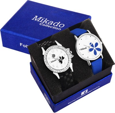 Mikado Mk Lee couple Unisex watches combo for men and women with one year warrenty Watch  - For Men & Women