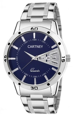 Cartney Analog Blue Dial Watch  - For Men   Watches  (cartney)