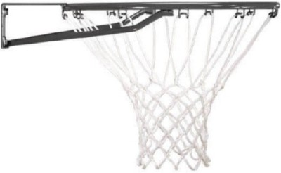 FACTO POWER With Net, And Basket Ball, Black Color, 9 mm., Basketball Ring(7 Basketball Size With Net)
