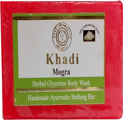 khadikhazana mogra herbal glycerine soap 125grams(125 g)