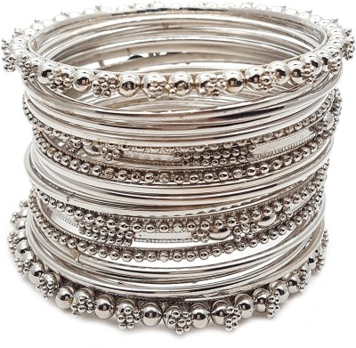 Zeneme Alloy Gold-plated Bangle Set at flipkart