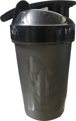 CP Bigbasket Gym 400 ml Shaker, Sipper, Bottle(Pack of 1, Black)  available at flipkart for Rs.175