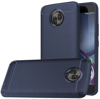 REALIKE Back Cover for Motorola Moto X4(Metallic Blue, Polycarbonate)