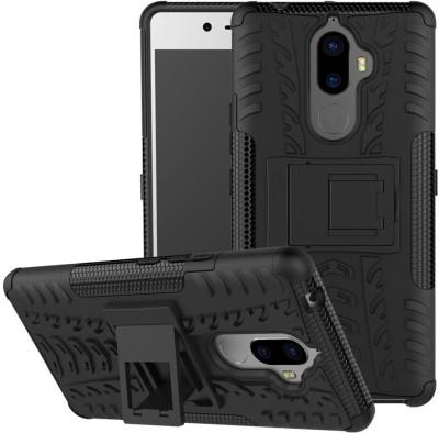 S-Softline Back Cover for Lenovo K8 Note(Black, Plastic)
