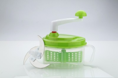 doma Chop N' Churn Multi-functional Food Processor For Vegetable & Fruit Chopper(Green)  available at flipkart for Rs.349