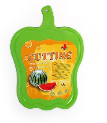 Little Kitchen New Plastic Chopping Board For Vegetable Cutting Plastic Cutting Board(Green Pack of 1)  available at flipkart for Rs.199