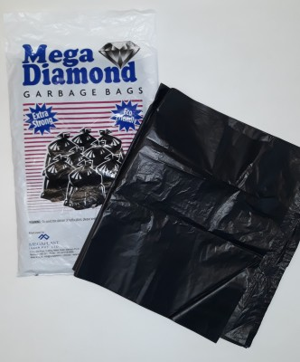 Mega Diamond Pack of 3 (3 x 30 bags each) Medium 5-8 L Garbage Bag(Pack of 90)  available at flipkart for Rs.103