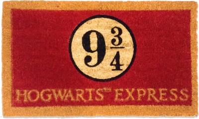 "Mc Sid Razz Coir Door Mat \""Harry Potter\"" - Hogwarts 9 3 by 4(Red, Medium)"