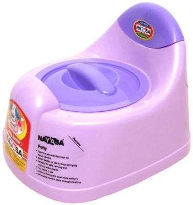 Nayasa 11 GD Potty Box Purple Nayasa Diaper   Potty Training