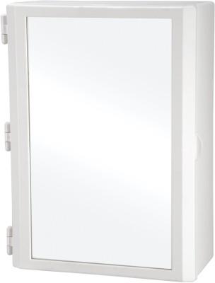 Wintex Icon Double Door Cabinet Polypropylene Wall Shelf(Number of Shelves - 2, Beige)