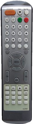 LipiWorld S-UTCR LCD LED TV Compatible For Sansui LCD LED TV Remote Controller(Black)