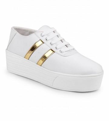 Zapatoz Sneakers For Women White