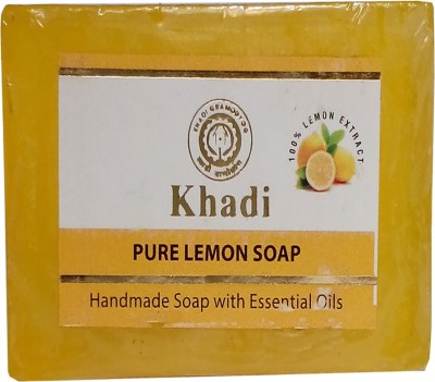khadikhazana pure lemon soap 125grams(125 g)