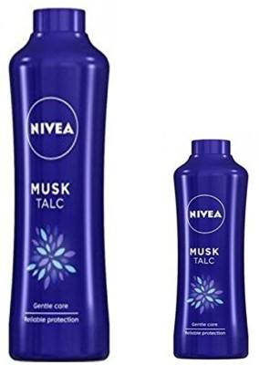 Nivea MUSK TALC 400 GM + MUSK TALC 100 GM(400 g)