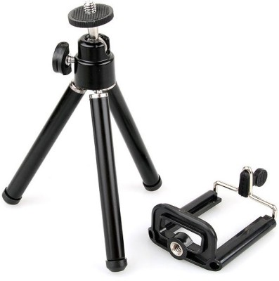 Outre 360 ADJUSTABLE MINI SMARTPHONE, DIGITAL CAMERA, camcorder, TRAVEL Tripod(Black, Supports Up to 500 g)  available at flipkart for Rs.329
