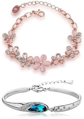 You Bella Alloy Bracelet(Pack of 2) at flipkart