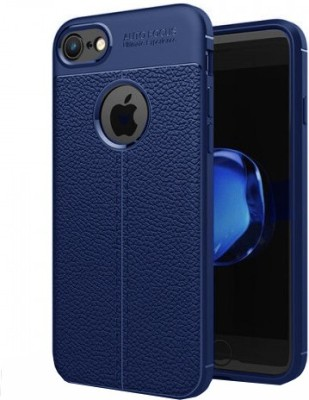 Gritoz Back Cover for Apple iPhone 7(Blue, Rubber)