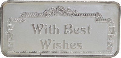 Kataria Jewellers With Best Wishes S 999 20 g Silver Bar Kataria Jewellers Coins   Bars
