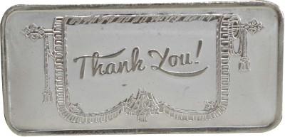 Kataria Jewellers Thank You S 999 20 g Silver Bar Kataria Jewellers Coins   Bars