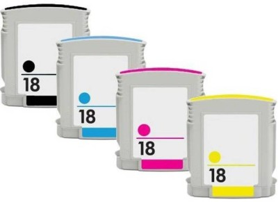 verena 18 Ink Cartridges Repalcement For HP 18 Ink Cartridges For Use In HP OfficeJet Pro 7300 All in One   HP OfficeJet Pro K5300   Combo Value Pack