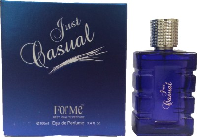 Forme JUST CAUSUAL PERFUME FOR MEN 100ML Eau de Parfum  -  100 ml(For Men)  available at flipkart for Rs.90