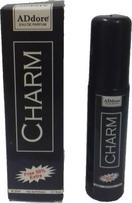 addore CHARM perfume 20ML + 50% EXTRA MEN & WOMEN perfume Eau de Parfum  -  20 ml(For Men & Women)  available at flipkart for Rs.80