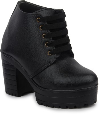 Moonwalk Boots For Women(Black)