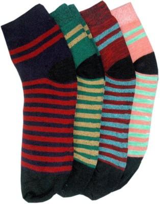 ODDEVEN Women Ankle Length Pack of 4 ODDEVEN Men's and Women's Socks