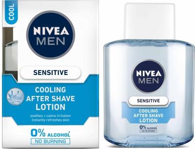 Nivea Men Sensitive Cooling After Shave Lotion(100 ml)  available at flipkart for Rs.187