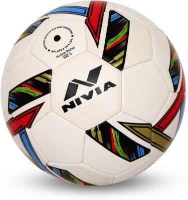 Nivia Revolvo Football -   Size: 5(White)  available at flipkart for Rs.469