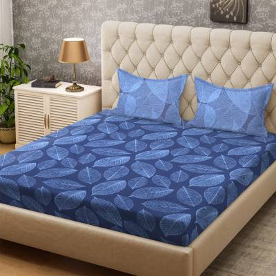 Bombay Dyeing Cotton Abstract Double Bedsheet