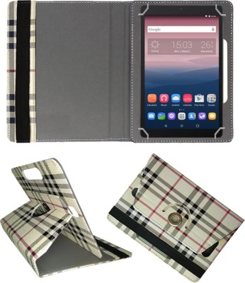 Fastway Book Cover for Alcatel OneTouch Pixi3 10 Tablet(Multicolor, Cases with Holder)