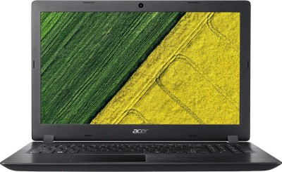 Acer Aspire 3 Celeron Dual Core - (4 GB/500 GB HDD/Windows 10 Home) A315-31 Laptop(15.6 inch, Black, 2.1 kg, With MS Office)