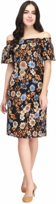 Eavan Women Sheath Multicolor Dress