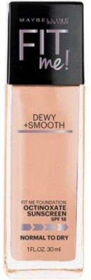 Maybelline Fit Me! Dewy And Smooth  Foundation(Buff Beige, 30 ml)