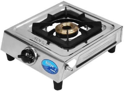 Surya 1231 Stainless Steel Manual Gas Stove(1 Burners)  available at flipkart for Rs.896