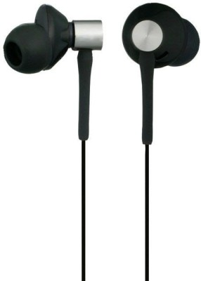 blutech universal Ubon UB-75 Wired Headphone (Black, In the Ear) Wired Headset with Mic(Black, In the Ear)