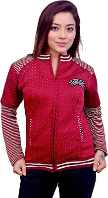 AAKRITHI Full Sleeve Printed Women Jacket
