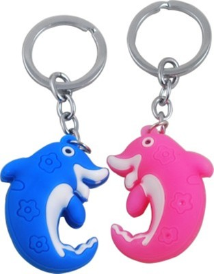 Shop & Shoppee combo of Dolphin fish Shaped Key Chain(Multicolor)  available at flipkart for Rs.149