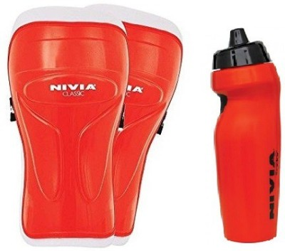 Nivia Combo of Two, one Pair of 'Classic' Shin Guard (Color On Availability) and one radar Sipper- Football Kit  available at flipkart for Rs.430