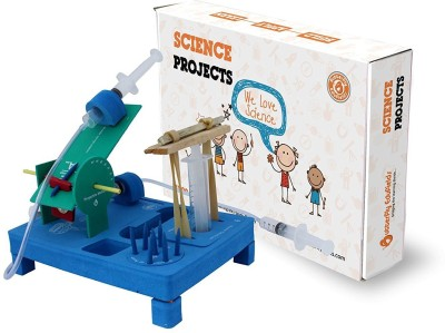 Butterfly FIelds Build a Hydraulic Jack & Projectile Launcher: BUILD | APPLY | LEARN(Science Experiment Kits)(Multicolor)  available at flipkart for Rs.400